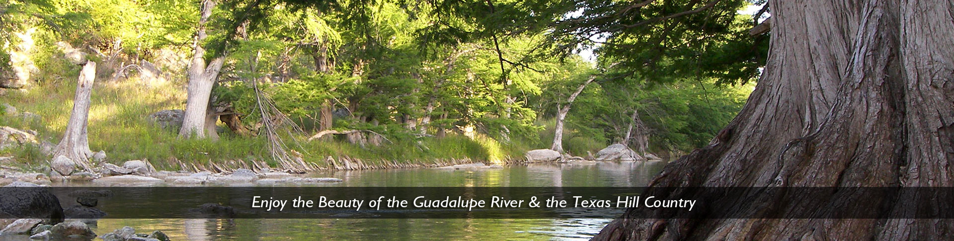 vacation on the guadalupe river